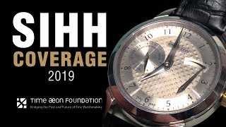 SIHH 2019: Time Æon Foundation and Future Watchmakers