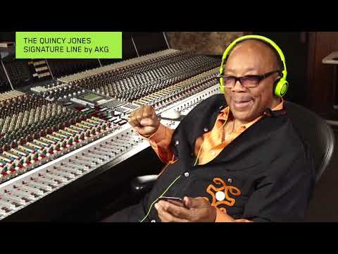 Quincy Jones Signature Headphones AKG Q701, Q460, Q350