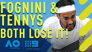Epic tennis blowup! Both players lose it | Wide World of Sports