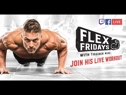Arm Workout | Flex Friday with Trainer Mike