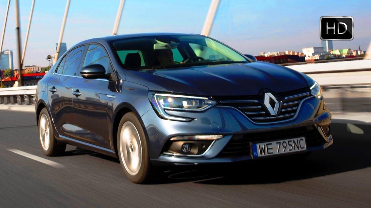 2017 Renault Megane Sedan Grey Exterior Interior Design Road Drive Hd