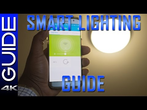 Smart Home Lighting Guide - Advanced Lighting Tutorial (SmartThings, Hue, Z-Wave Lighting)