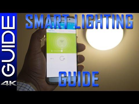 Smart Home Lighting Guide - Advanced Lighting Tutorial (SmartThings, Hue, Z-Wave Lighting)