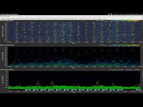 Basic spectrum analysis of Turnigy 9x(v2) and Spektrum DX4e (dsm2)  transmitters