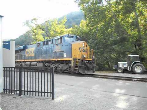 Railfanning Thurmond, WV (2014)