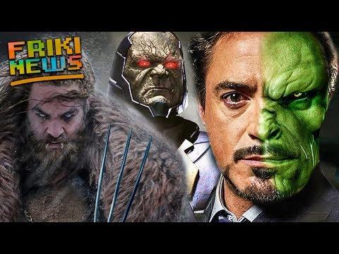 WTF?! Tony Stark es un Skrull y Jason Momoa seria Wolverine? Snyder revela Darkseid, Green Goblin