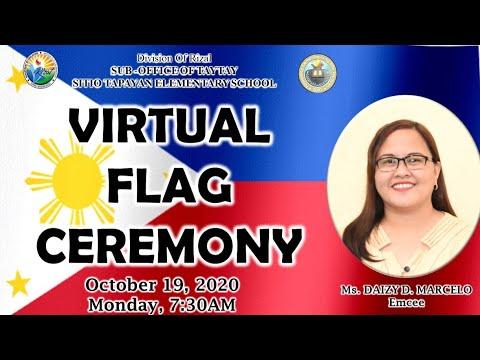 SITIO TAPAYAN ES VIRTUAL FLAG CEREMONY - OCTOBER 19,2020