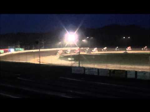 Sportsman's Speedway - #46 Michael Bauer - August 25, 2013