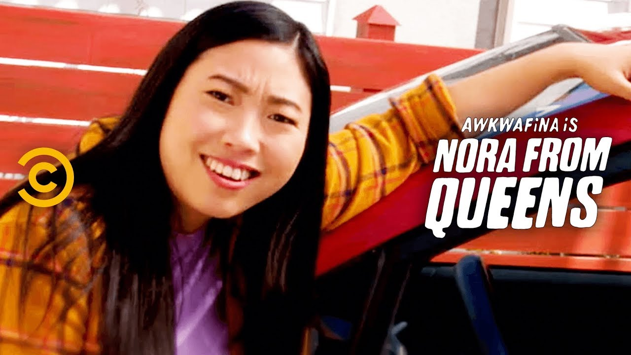 When You Ride with Nora, She Hooks You Up - Awkwafina is Nora from Queens