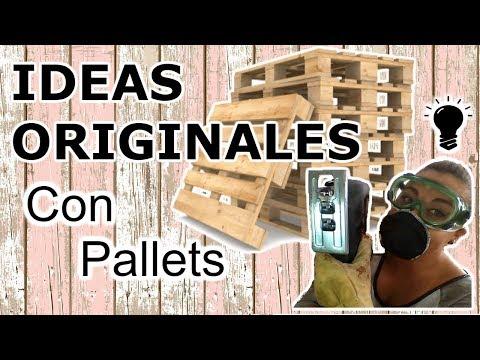 11 Manualidades Con Pallets Paso A Paso Ideas Creativas Y