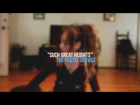 Such Great Heights - The Postal Service (cover)