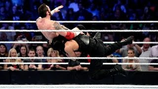 WWE SMACKDOWN APRIL 9, 2015: Roman Reigns, Ziggler & Daniel Bryan vs Big Show, Sheamus & Barrett