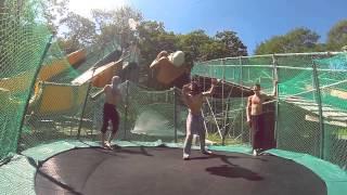 Владивостокские акростритеры отжигают в экстрим-парке - нереальные прыжки!