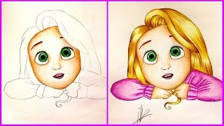 Drawing Baby Rapunzel