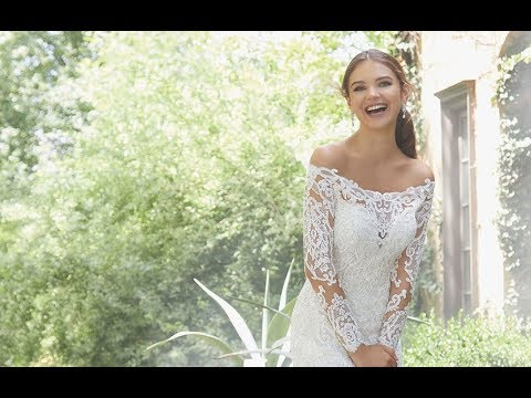 Mori Lee 5709 Priscilla Wedding Dress Youtube