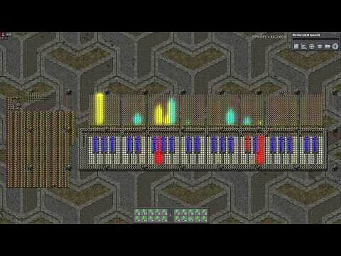 System Of A Down - Chop Suey! FACTORIO MUSIC programmable speakers.