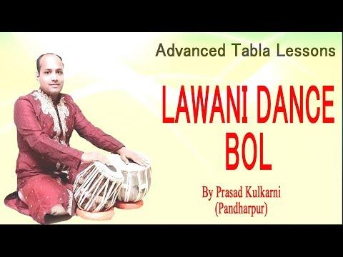 Tabla Lesson#41-(Lawani dance/Tamasha/Dholaki bols)