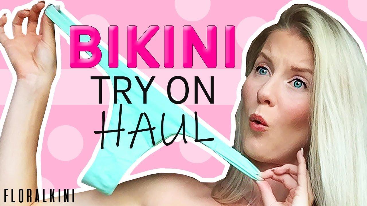 c98ce407e50ac BIKINI TRY ON HAUL | 8 Floralkini Bikinis! by Kat Wonders