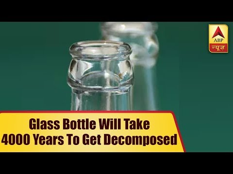 World Environment Day: A Glass Bottle Will Take 4000 Years To Get Decomposed | ABP News