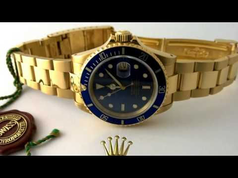 The Battle of the Gold Rolex Submariners - White Gold or Yellow Gold ?