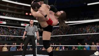 WWE 2K17 - SWE Top Matches - Kassius Ohno Vs Deisuke Sekimoto