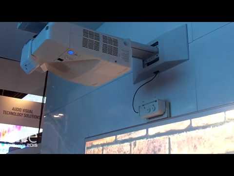 InfoComm 2015: NEC Details UM351W Ultra Short Throw Projector