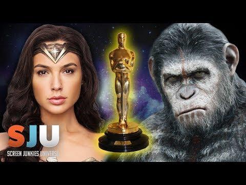 Wonder Woman and Apes Enter the Oscar Race - SJU