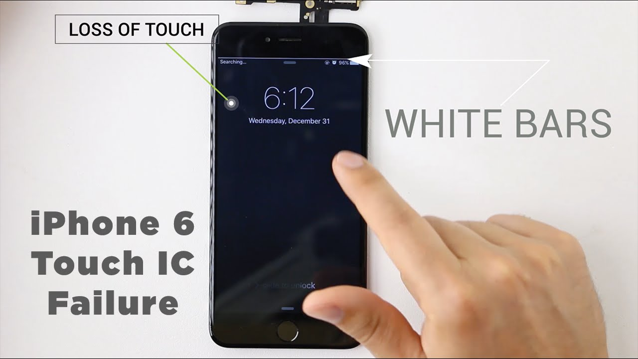 Iphone 6 Plus Touchscreen Chip Reparatur