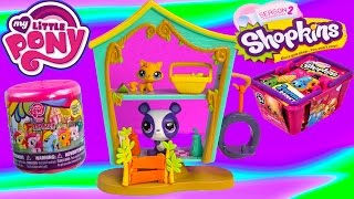 Littlest Pet Shop Cozy Clubhouse Playset Mlp Fash'ems Shopkins Blind Bags Bobblehead Lps Toy