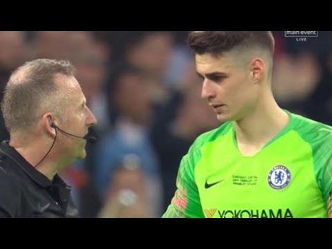 Chelsea keeper refuses to come of