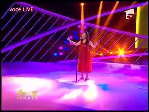 "Arisxandra Libantino is ""Romania's Next Star"" Champion 2014 (Impossible Dream)"