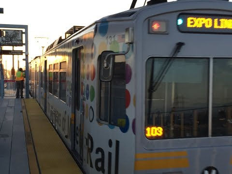 Metro Expo Line (FULL RIDE)