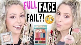 NEW at Sephora   Full Face Testing Pretty Vulgar Cosmetics FAIL?!