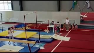 Открытое Первенство Кабардино-Балкарской Республики по спортивной гимнастике. (Брусья)