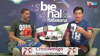 Reproduzir V Bienal Do Livro do Itabaiana 2019 Ao Vivo