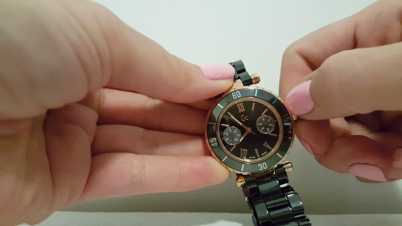 60f0436f5 Review Black ceramic GC Ladies Watch - I42004L2S - YouTube