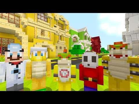 Minecraft Switch - Nintendo Fun House - Bowser Jr Buys 6 HOUSES! [93]