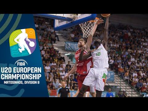 Portugal v Georgia - Full Game - FIBA U20 European Championship Division B 2019