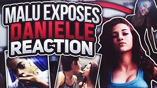 Malu Trevejo exposes Danielle Bregoli says she ATE HER OUT!! REACTION VIDEO