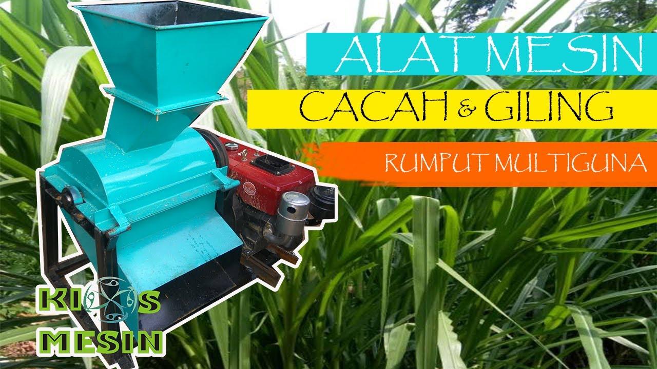 Mesin Cacah Dan Penepung Rumput Dan Sekam Jadi Dedak - Jual mesin giling sekam padi mesin penepung