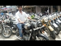 ROYAL ENFIELD BULLET BIKES IN CHEAP PRICE   SECOND HAND SUPRERBIKES MARKET IN KAROL BAGH DELHI INDIA