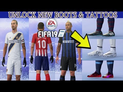 UNLOCK NEW BOOTS & TATTOOS