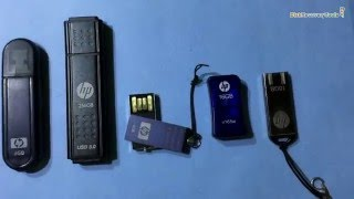 Corrupted HP USB drive data restore: DDR Pen Drive Recovery Software