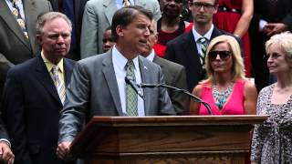 McCrory and Tillis on Education Plan