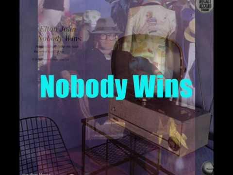 Elton John - Nobody Wins (extended remix 1981) With Lyrics!