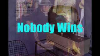 Elton John - Nobody Wins (extended remix 1981) With Lyrics!