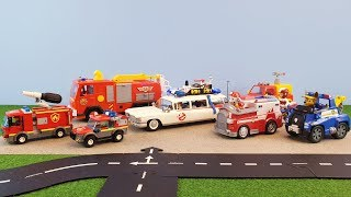 Fireman Sam Toys Playmobil Ghostbusters Lego Fire Station Paw Patrol Firefighter Sam Toy