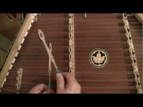 Hammered Dulcimer Instruction Video #15 - St Ann's Reel