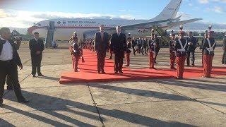Arriba el Rey de España a Guatemala