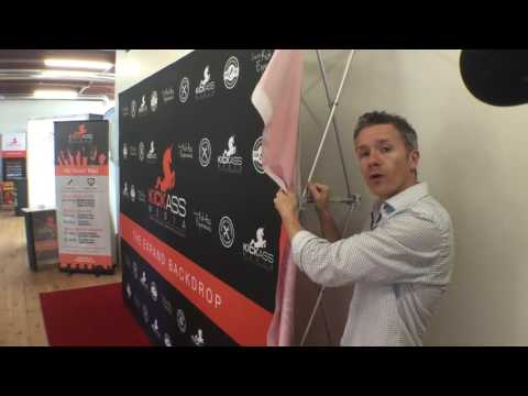Step and Repeat Backdrops by Kick Ass Media
